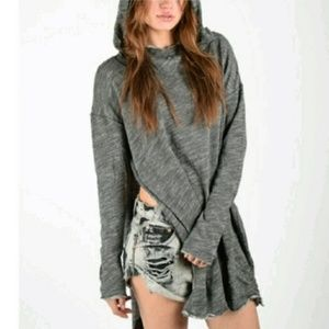 Free People Beach In a Hurry Oversized hoodie